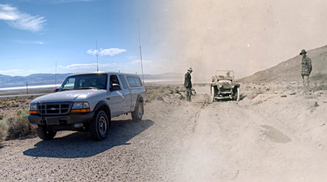 Sand Pass - Then and Now