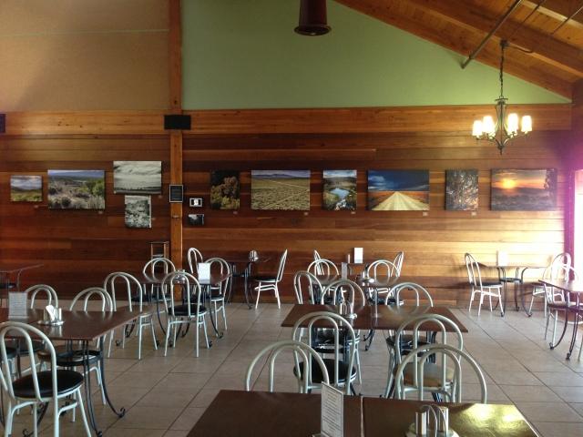 Installation at Valentina's Bistro in Grass Valley