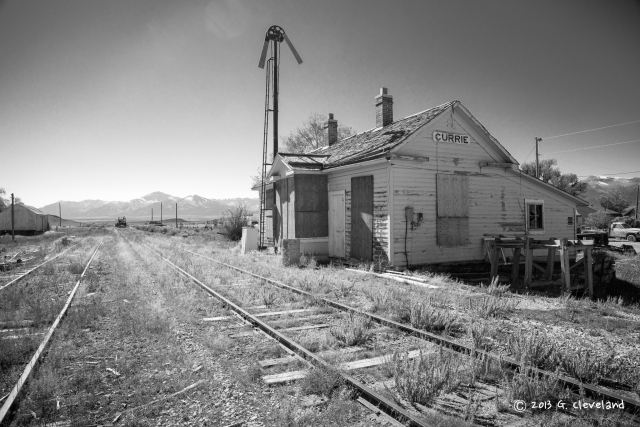 The Nevada Northern Station at Currie.
