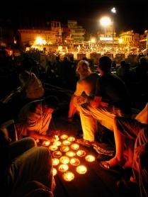 Varanasi - Fire Puja