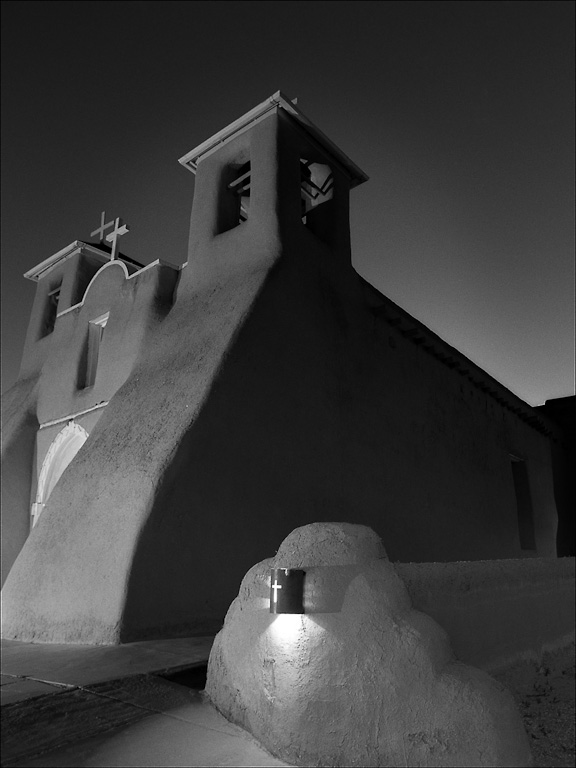 San Francisco de Asis at Night