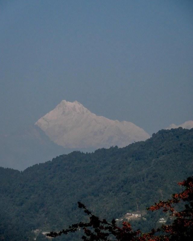 Kanchenjunga - the third highest mountain in the world.